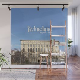 Technoland, Berlin, the Techno Meca Club! Wall Mural