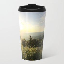 Blue Ridge Parkway Panorama 1 Travel Mug