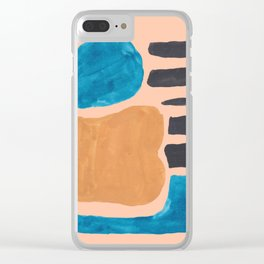 13  190330 Abstract Shapes Painting Clear iPhone Case