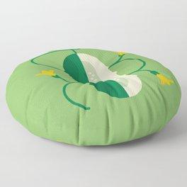 Vegetable: Cucumber Floor Pillow