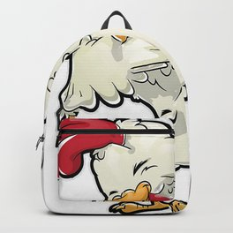 Dabbing Chicken Shirt Dab Dance Chickens Funny Farming Farm Poultry Gifts T-shirt for Farmers or Chicken Lovers Backpack