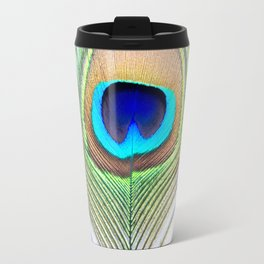 Eye of the Peacock Travel Mug