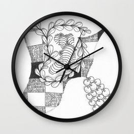 Chaplet Wall Clock