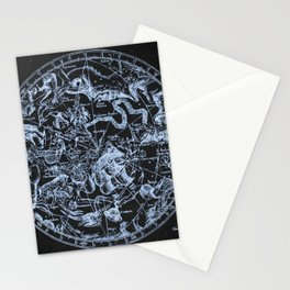 Ice on Black | Zodiac Skies & Astrological Ties Stationery Cards