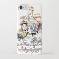 shingeki no kyojin iPhone & iPod Cases featuring OriSor Shingeki No Kyojin Royal Fanart  Attack on Titan by Mistiqarts by Mistiqarts