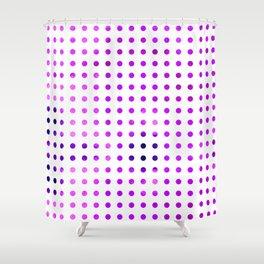 Polka Dot-violet Shower Curtain