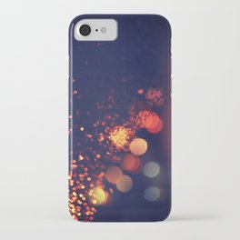 Driving In The Rain iPhone Case