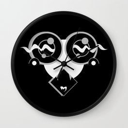 SHY BLACK SiDE ver. (Original Characters Art by AKIRA) Wall Clock