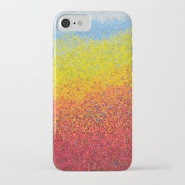 colored mountains iPhone Case