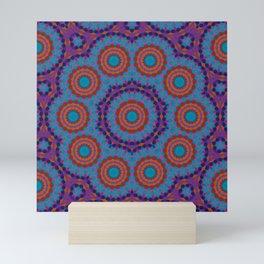 Mosaic Mandala Mini Art Print