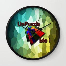 UnPuzzle Me ! Wall Clock