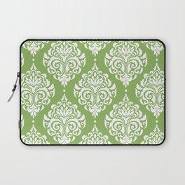 Green Damask Laptop Sleeve