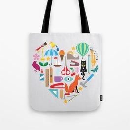 Heart It Tote Bag