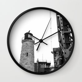 Bridge and House of Light Wall Clock