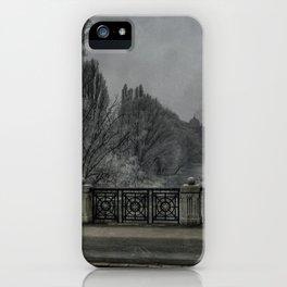 winter mood iPhone Case