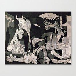 GUERNICA #1 - PABLO PICASSO Canvas Print