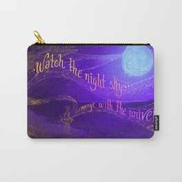 Merge with the Universe Carry-All Pouch