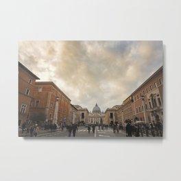 The Vatican City Metal Print