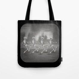 Dancing skeletons II Tote Bag