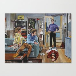 And You Want to be my Latex Salesman! Seinfeld Art Prints Canvas Print