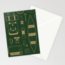 The Camping Collection Stationery Cards