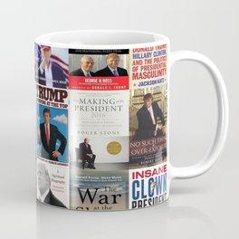 Donald Trump Books Coffee Mug