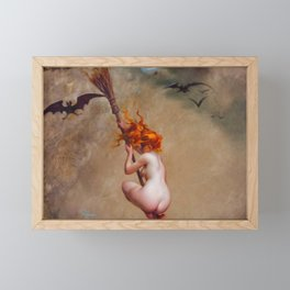 THE WITCH - LUIS RICARDO FALERO   Framed Mini Art Print