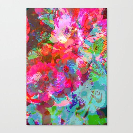 NEON GARDEN Canvas Print