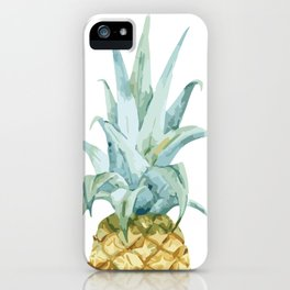 Pineapple Topper iPhone Case