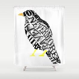 The Raven - Edgar Allan Poe Shower Curtain