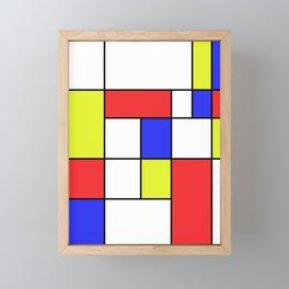 Mondrian #23 Framed Mini Art Print