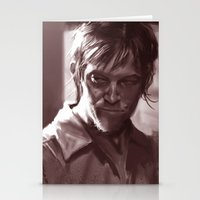 daryl Stationery Cards featuring Daryl  by Jim Gallo