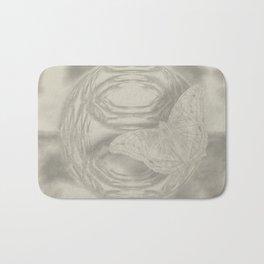 Delicate butterfly wind creation Bath Mat
