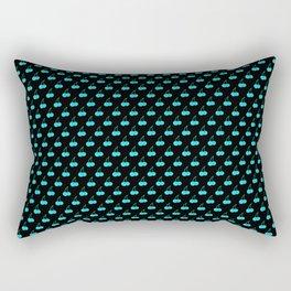 Blue Cherries Rectangular Pillow