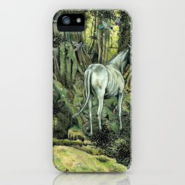 Unicorn & Pixies iPhone Case