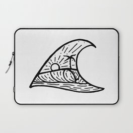Wave in a Wave Laptop Sleeve
