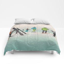 Skiers Summit Comforters