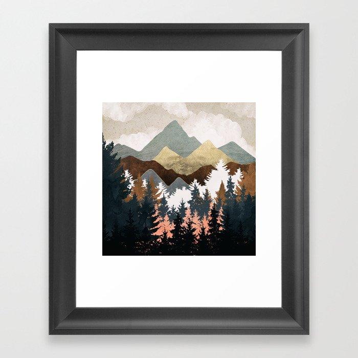 Forest View Gerahmter Kunstdruck