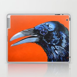 Orange Crow Laptop & iPad Skin