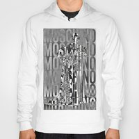 moschino Hoodies featuring obsessed moschino by Claudio Velázquez