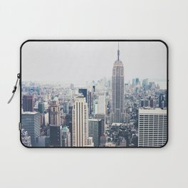 New York City and the Empire State Building Laptop Sleeve
