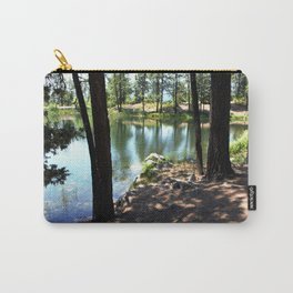 Cold, Clear Waters of Remote Forebay Lake Carry-All Pouch