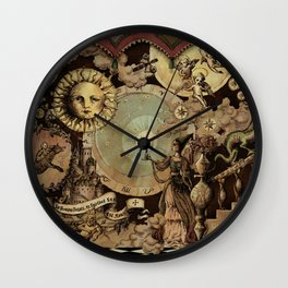 The mediaeval theater Wall Clock