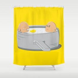 Eggs Jacuzzi Shower Curtain