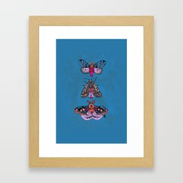 And There I Go Framed Art Print