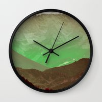 philosophy Wall Clocks featuring Philosophy & Purpose #society6 by 83 Oranges™