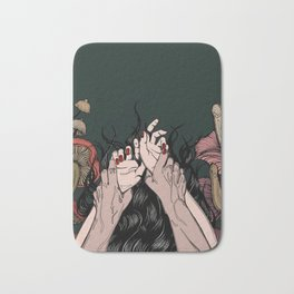 Jungle of the Sleeping Flames Bath Mat