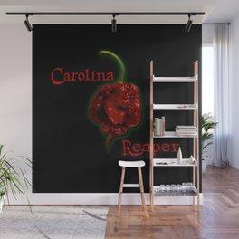 A Carolina Reaper Chili Pepper Wall Mural