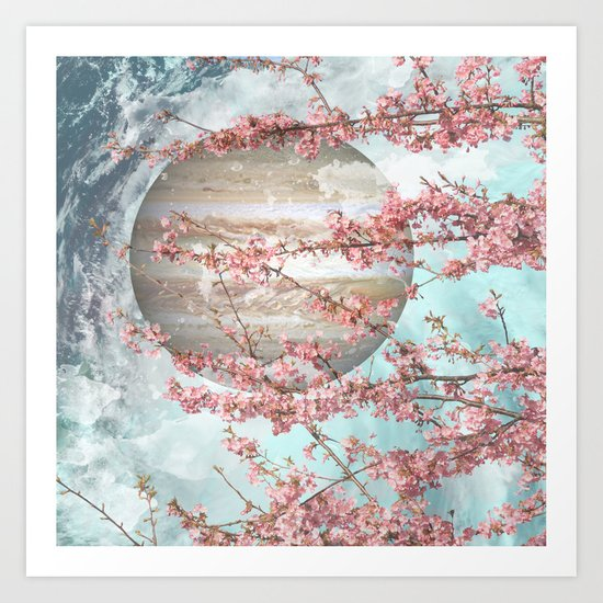 Spring Jupiter Art Print