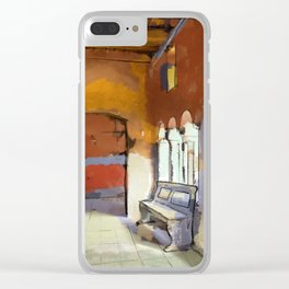 Inner Sanctuary Clear iPhone Case